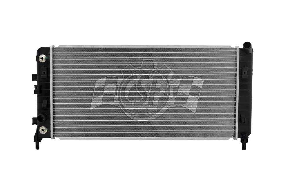 CSF RADIATOR - 1 Row Plastic Tank Aluminum Core Radiator - CSF 3262