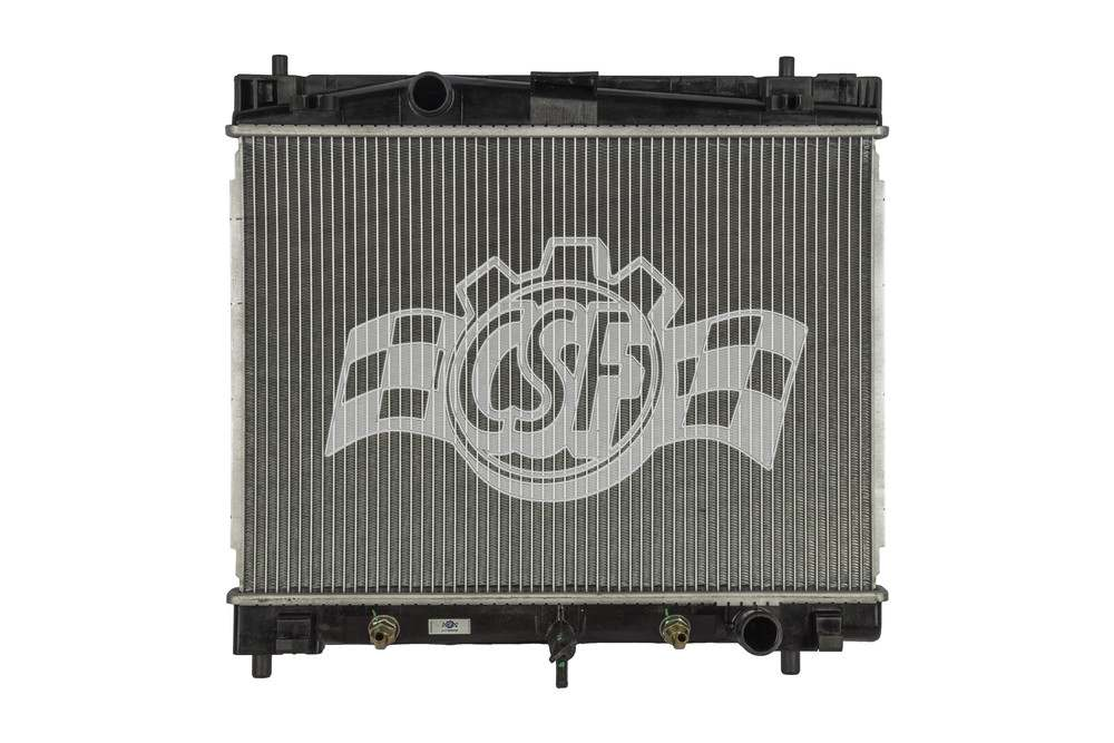 CSF RADIATOR - 1 Row Plastic Tank Aluminum Core Radiator - CSF 3318