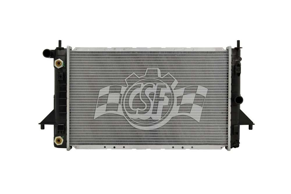 CSF RADIATOR - 1 Row Plastic Tank Aluminum Core Radiator - CSF 3353