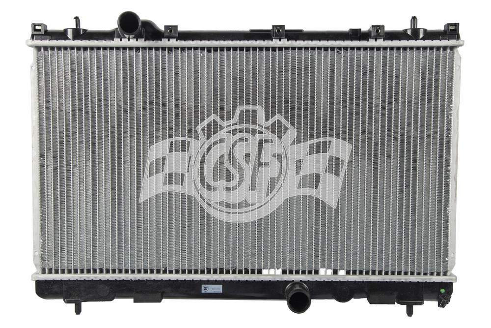 CSF RADIATOR - 1 Row Plastic Tank Aluminum Core Radiator - CSF 3418