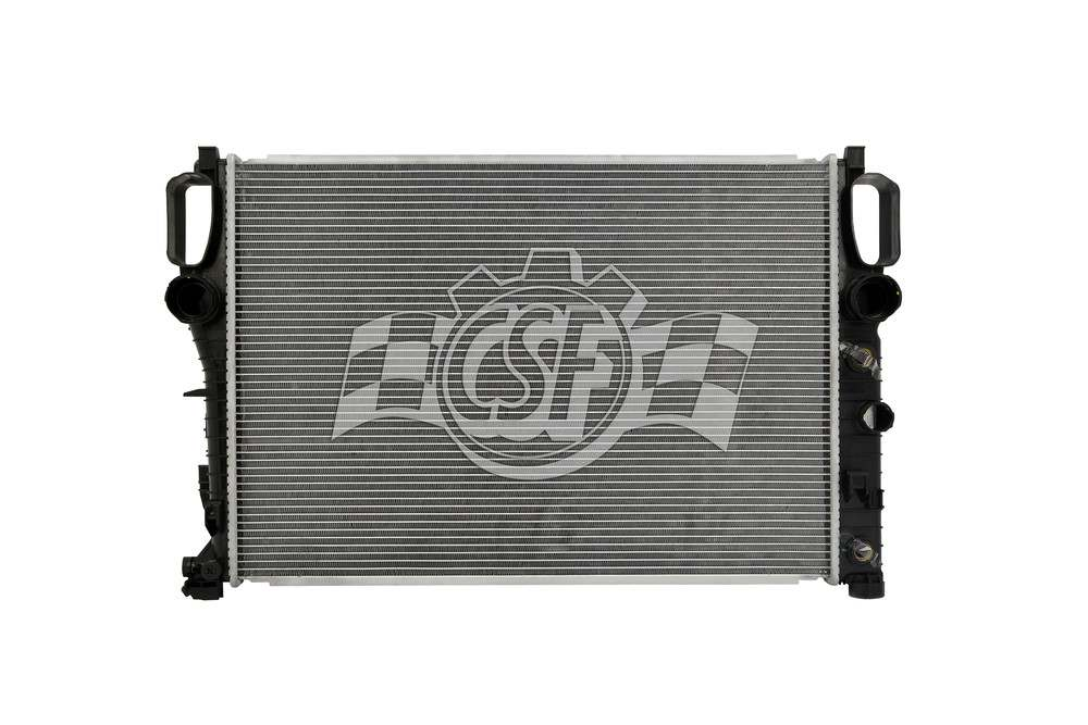CSF RADIATOR - 1 Row Plastic Tank Aluminum Core Radiator - CSF 3428