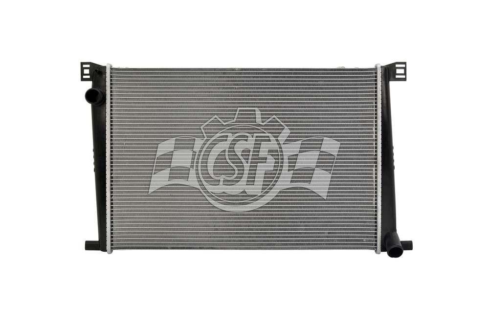 CSF RADIATOR - 1 Row Plastic Tank Aluminum Core Radiator - CSF 3429