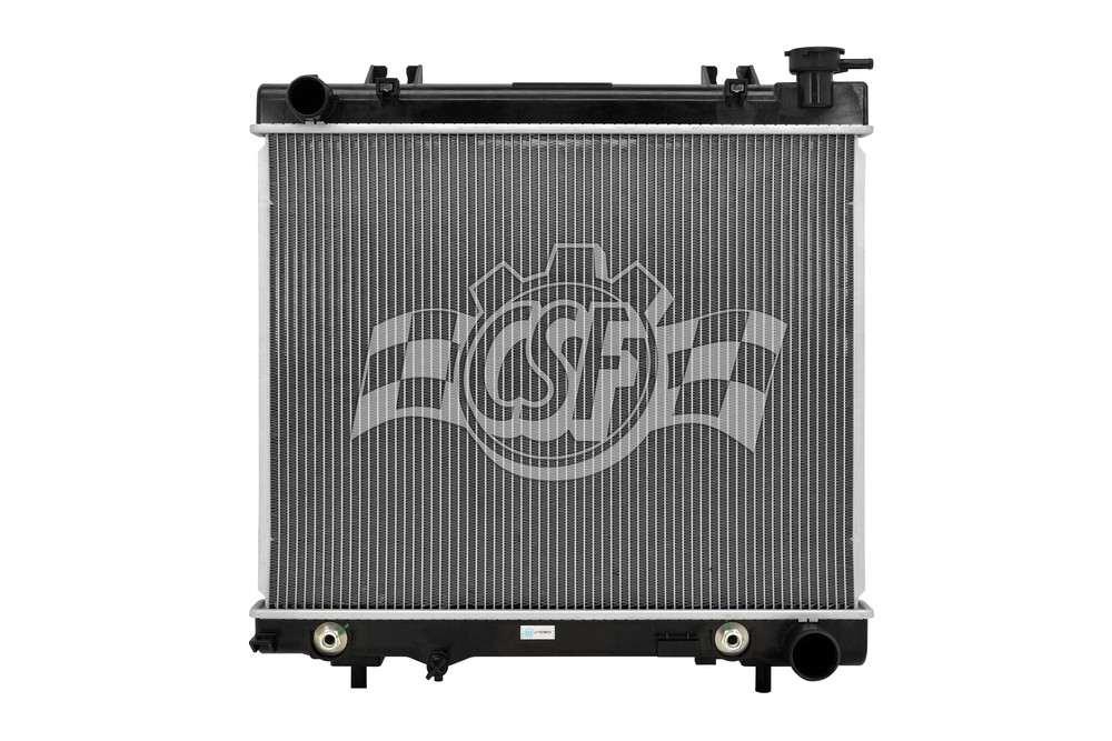 CSF RADIATOR - 1 Row Plastic Tank Aluminum Core Radiator - CSF 3454