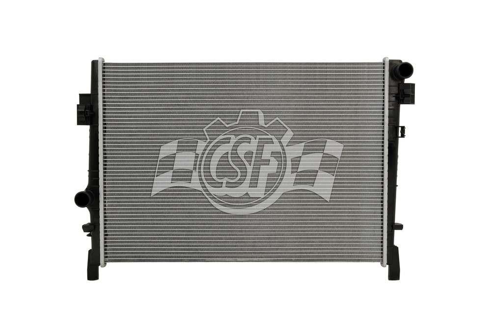 CSF RADIATOR - 1 Row Plastic Tank Aluminum Core Radiator - CSF 3455