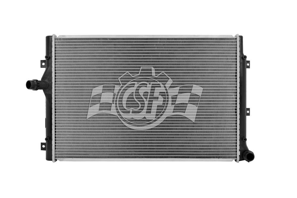 CSF RADIATOR - 1 Row Plastic Tank Aluminum Core Radiator - CSF 3459