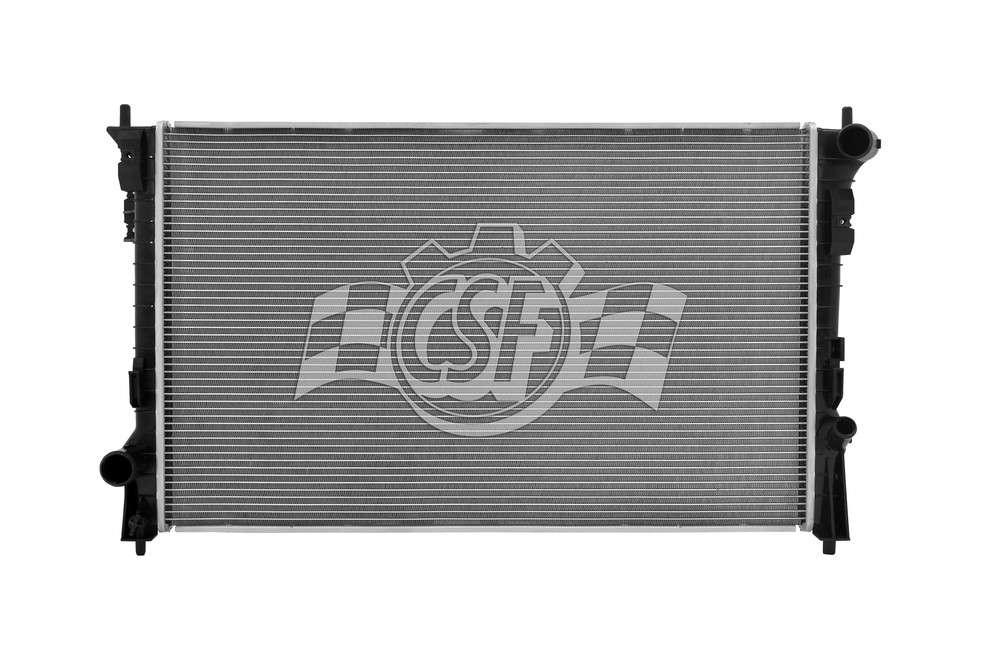 CSF RADIATOR - 1 Row Plastic Tank Aluminum Core Radiator - CSF 3461