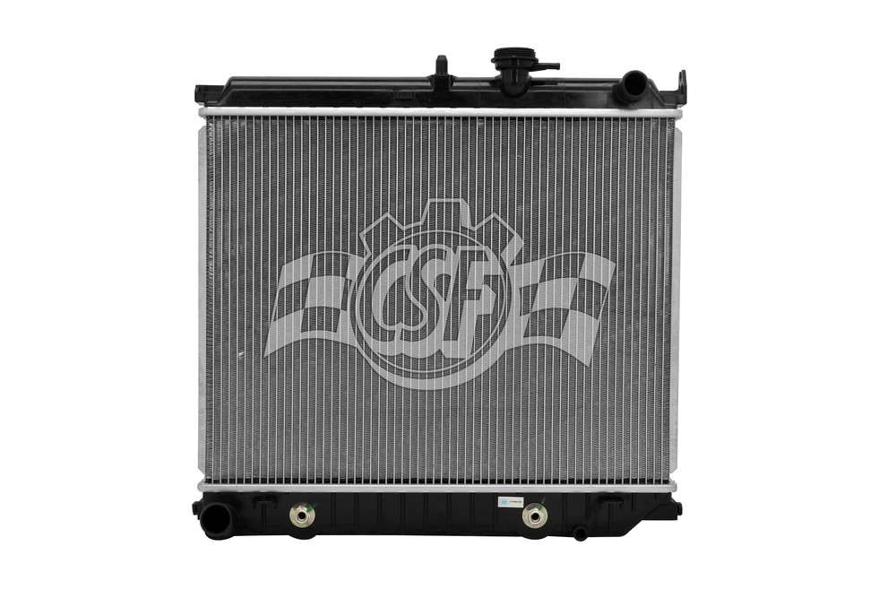 CSF RADIATOR - 1 Row Plastic Tank Aluminum Core Radiator - CSF 3471