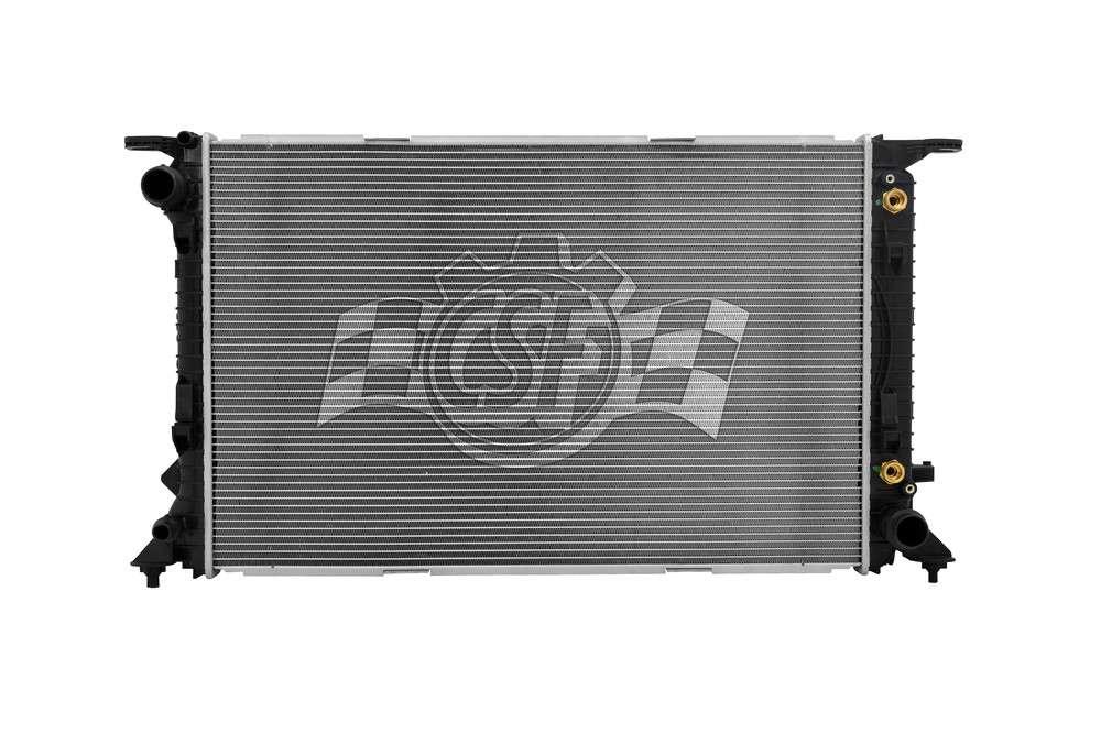CSF RADIATOR - 1 Row Plastic Tank Aluminum Core Radiator - CSF 3519