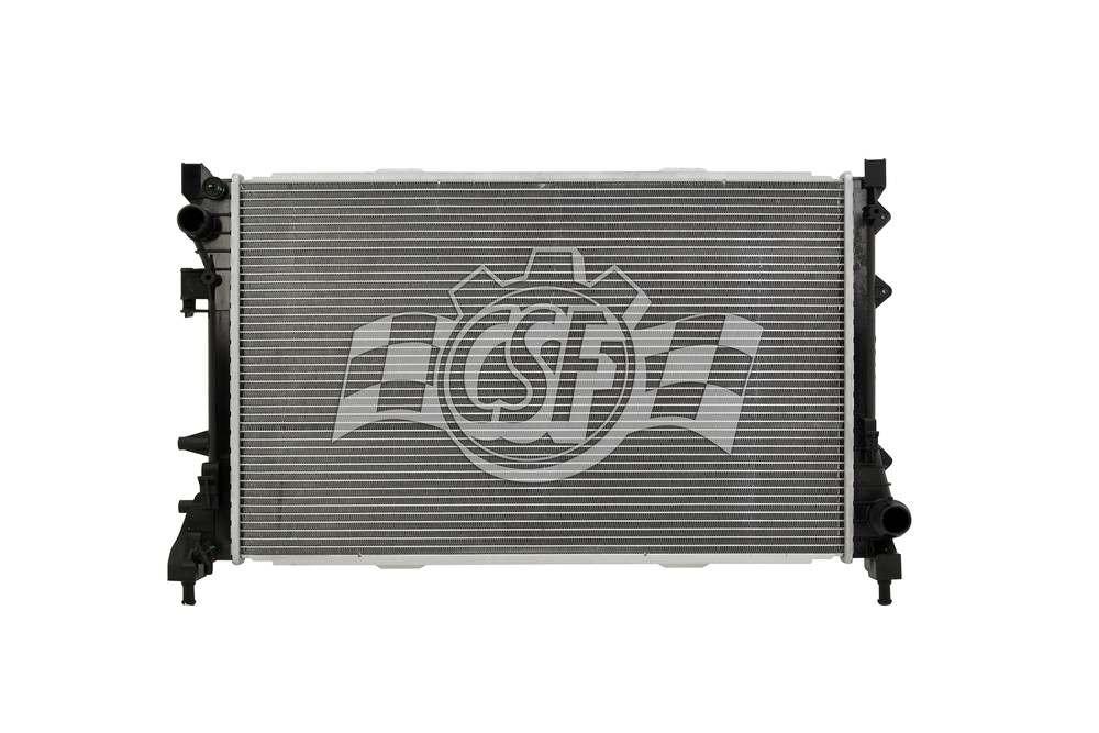 CSF RADIATOR - 1 Row Plastic Tank Aluminum Core Radiator - CSF 3530