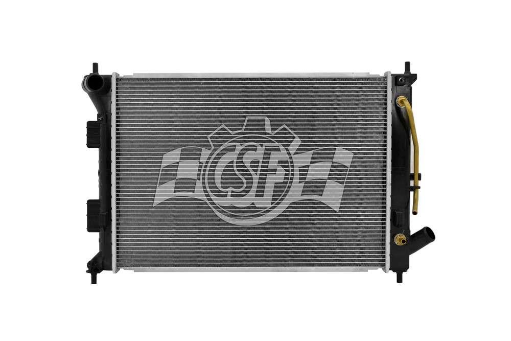 CSF RADIATOR - 1 Row Plastic Tank Aluminum Core Radiator - CSF 3538