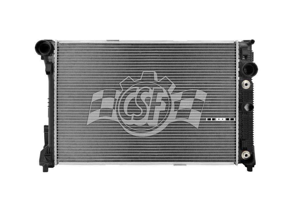 CSF RADIATOR - 2 Row Plastic Tank Aluminum Core Radiator - CSF 3548