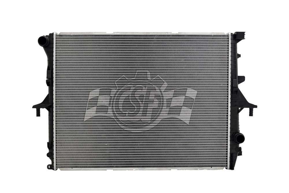 CSF RADIATOR - 2 Row Plastic Tank Aluminum Core Radiator - CSF 3554