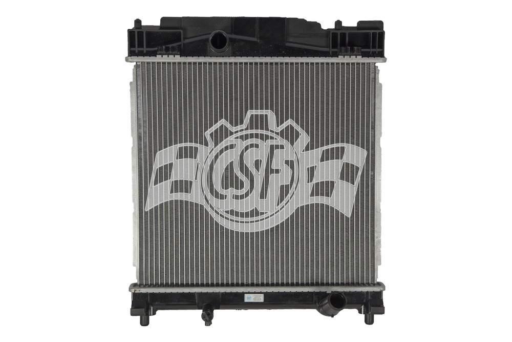 CSF RADIATOR - 1 Row Plastic Tank Aluminum Core Radiator - CSF 3555