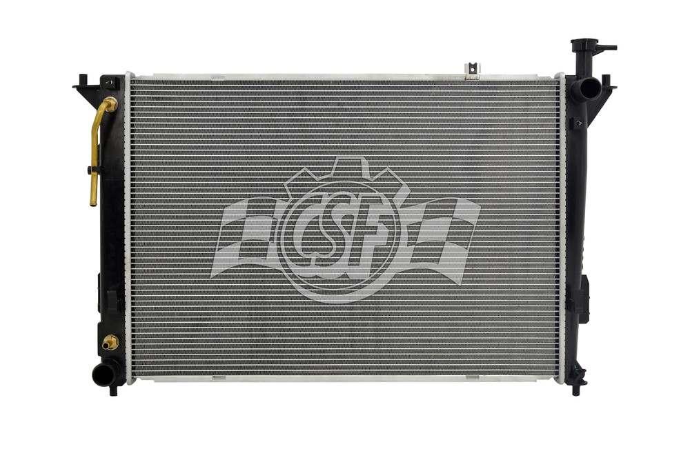 CSF RADIATOR - 1 Row Plastic Tank Aluminum Core Radiator - CSF 3615