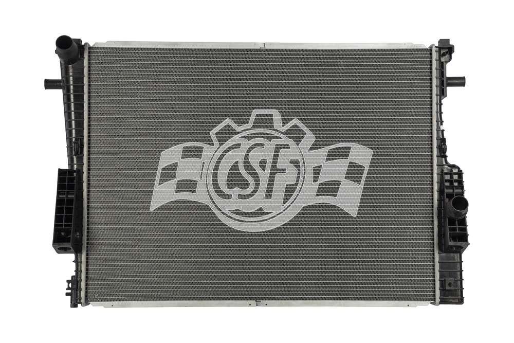 CSF RADIATOR - 2 Row Plastic Tank Aluminum Core - CSF 3642