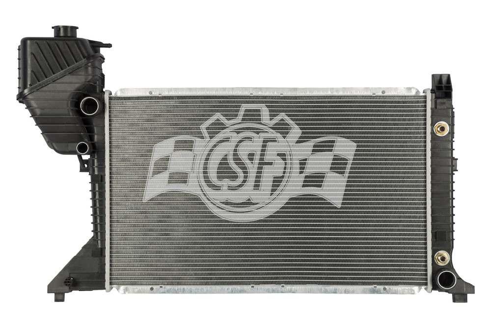 CSF RADIATOR - 1 Row Plastic Tank Aluminum Core Radiator - CSF 3661