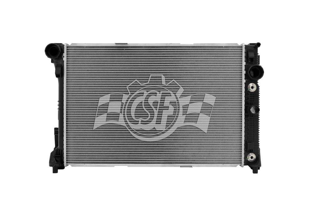 CSF RADIATOR - 1 Row Plastic Tank Aluminum Core Radiator - CSF 3692