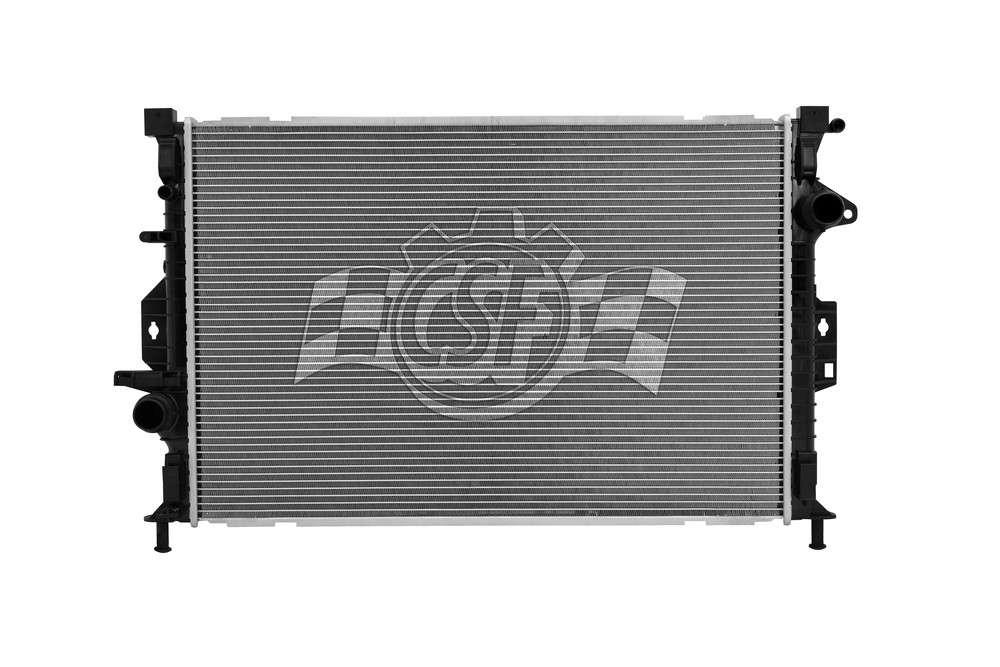 CSF RADIATOR - 1 Row Plastic Tank Aluminum Core Radiator - CSF 3707
