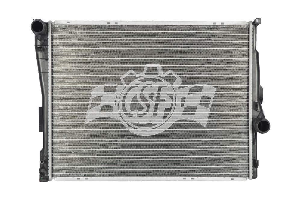 CSF RADIATOR - 1 Row Plastic Tank Aluminum Core Radiator - CSF 3708