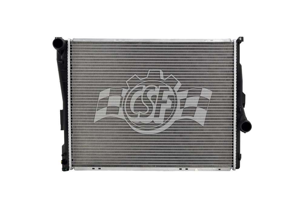 CSF RADIATOR - 1 Row Plastic Tank Aluminum Core Radiator - CSF 3709