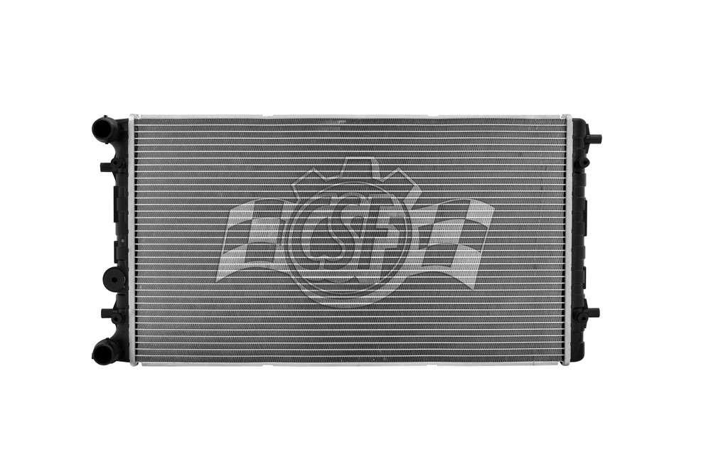 CSF RADIATOR - 1 Row Plastic Tank Aluminum Core Radiator - CSF 3713
