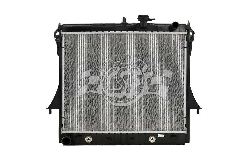 CSF RADIATOR - 1 Row Plastic Tank Aluminum Core Radiator - CSF 3720