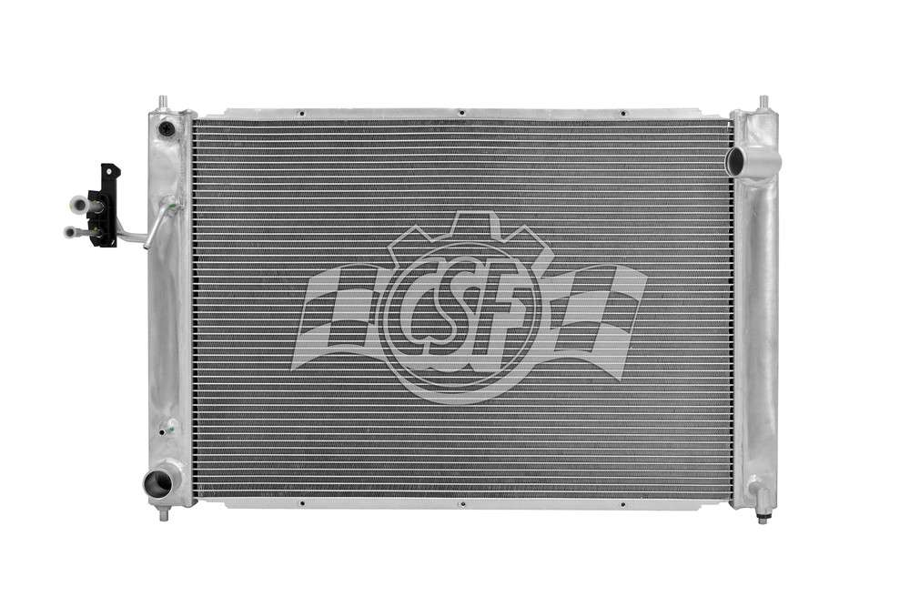 CSF RADIATOR - 1 Row All Aluminum Radiator & A/C Condenser Assembly - CSF 3721