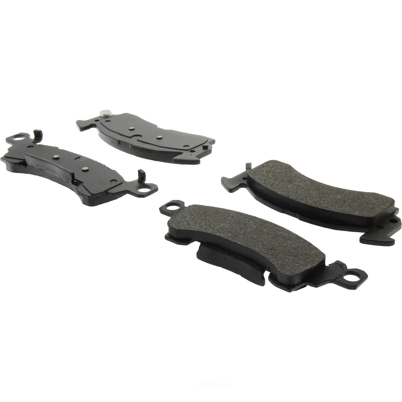 C-TEK BY CENTRIC - C-TEK Ceramic Disc Brake Pad Sets (Front) - CTK 103.00520