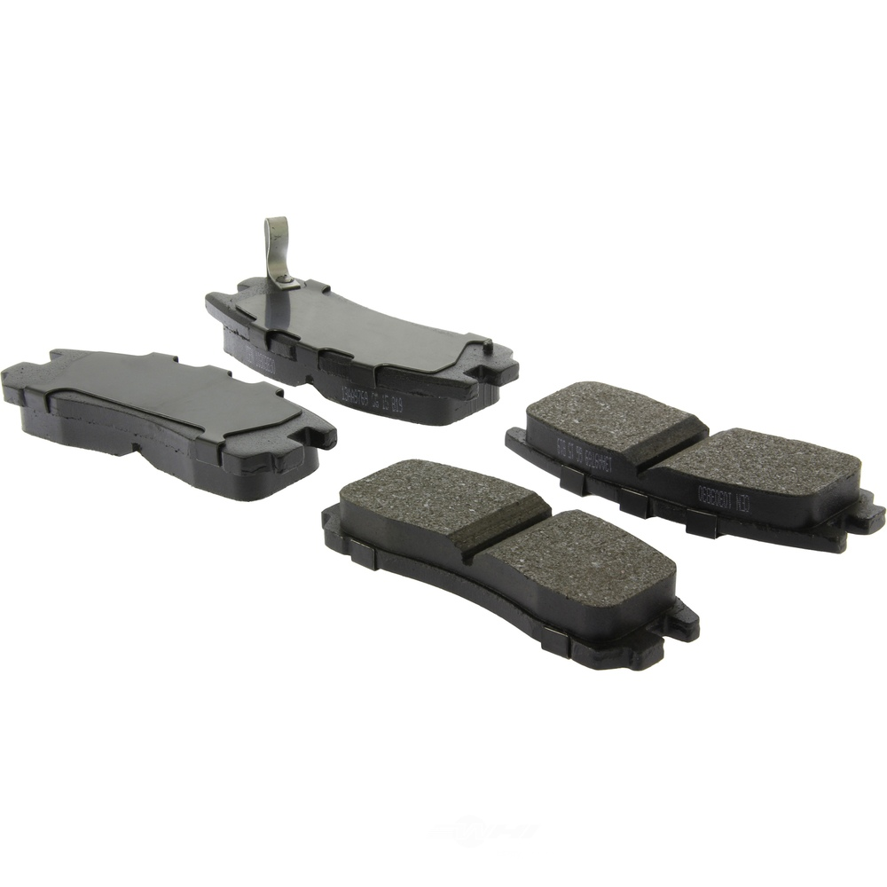 C-TEK BY CENTRIC - C-TEK Ceramic Disc Brake Pad Sets (Rear) - CTK 103.03830