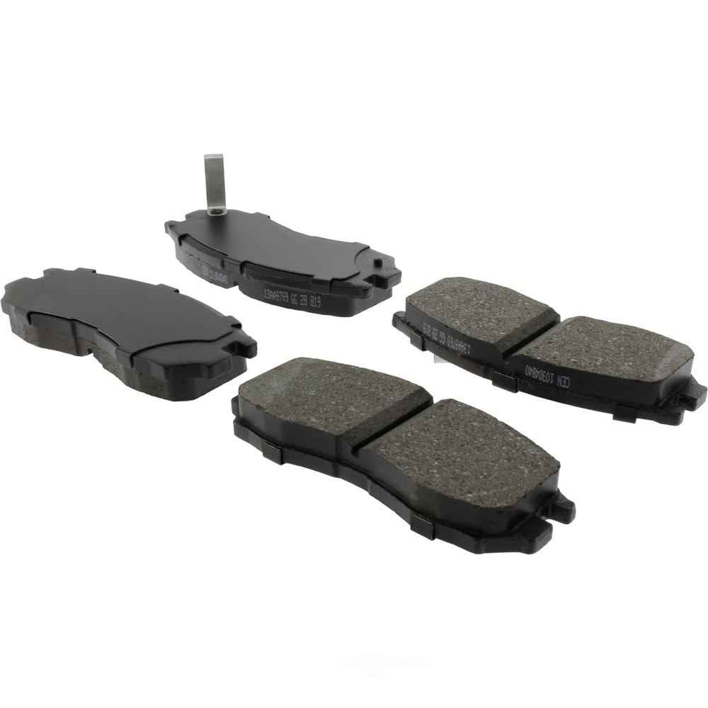 C-TEK BY CENTRIC - C-TEK Ceramic Disc Brake Pad Sets (Front) - CTK 103.04840