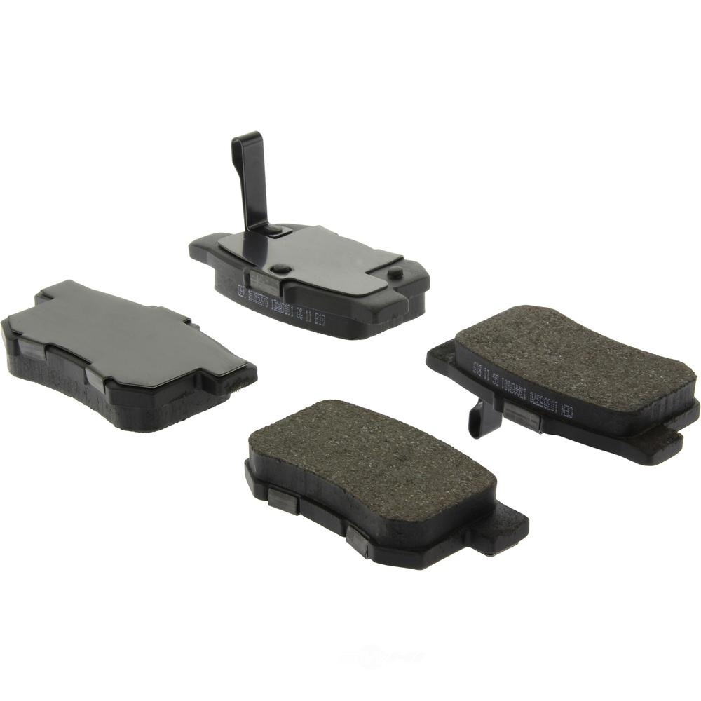 C-TEK BY CENTRIC - C-TEK Ceramic Disc Brake Pad Sets (Rear) - CTK 103.05370