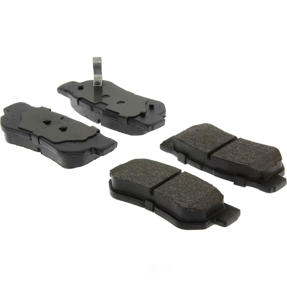C-TEK BY CENTRIC - C-TEK Ceramic Disc Brake Pad Sets (Rear) - CTK 103.08130