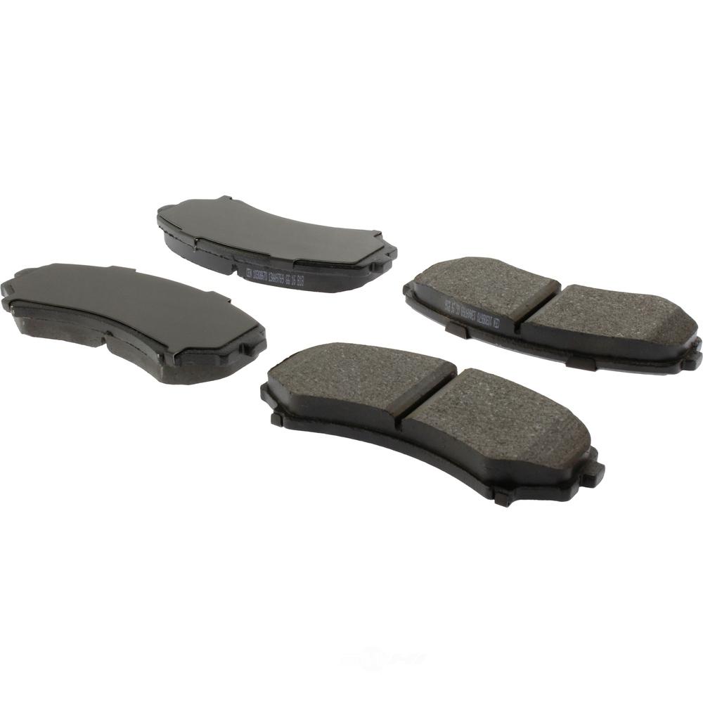 C-TEK BY CENTRIC - C-TEK Ceramic Disc Brake Pad Sets (Front) - CTK 103.08670