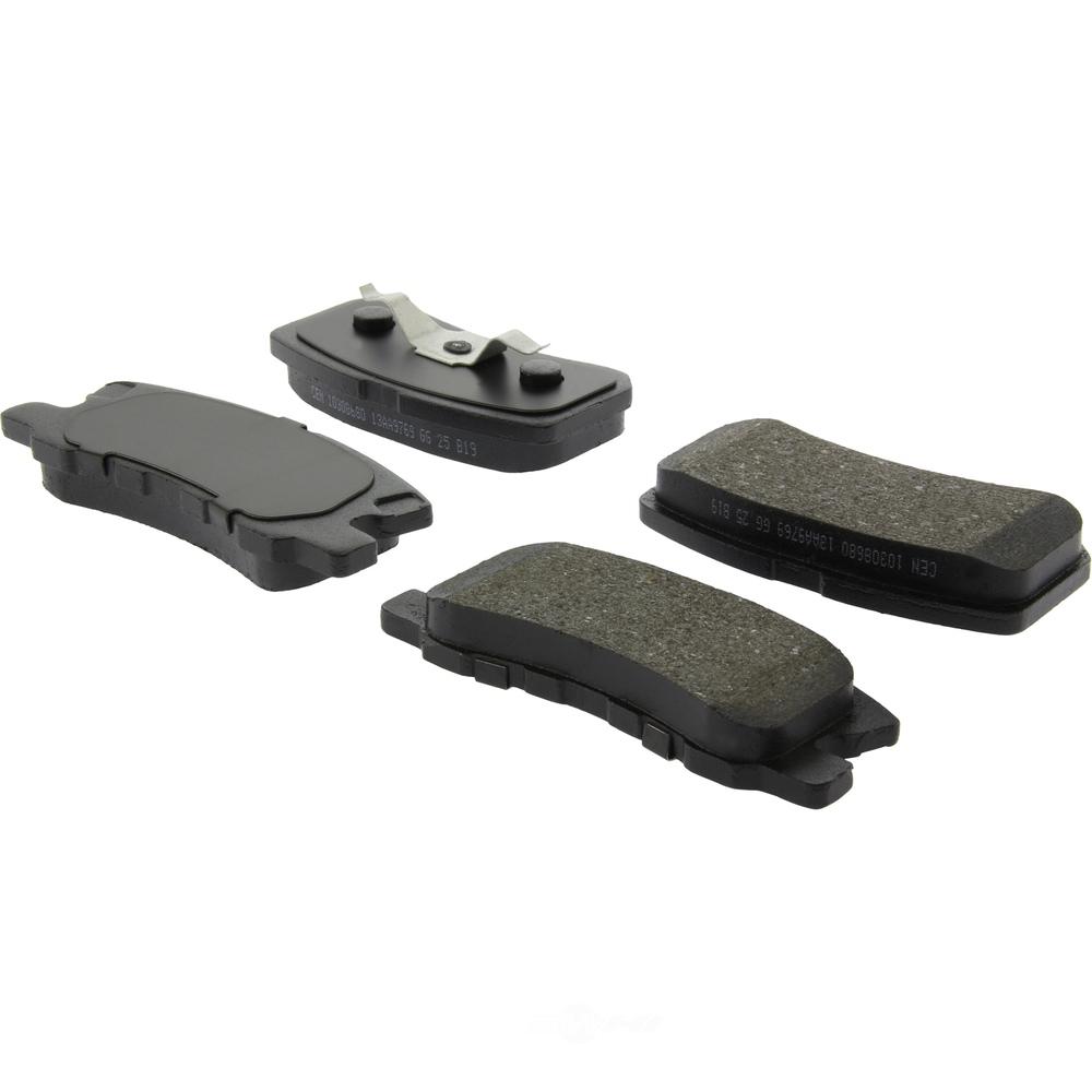 C-TEK BY CENTRIC - C-TEK Ceramic Disc Brake Pad Sets (Rear) - CTK 103.08680