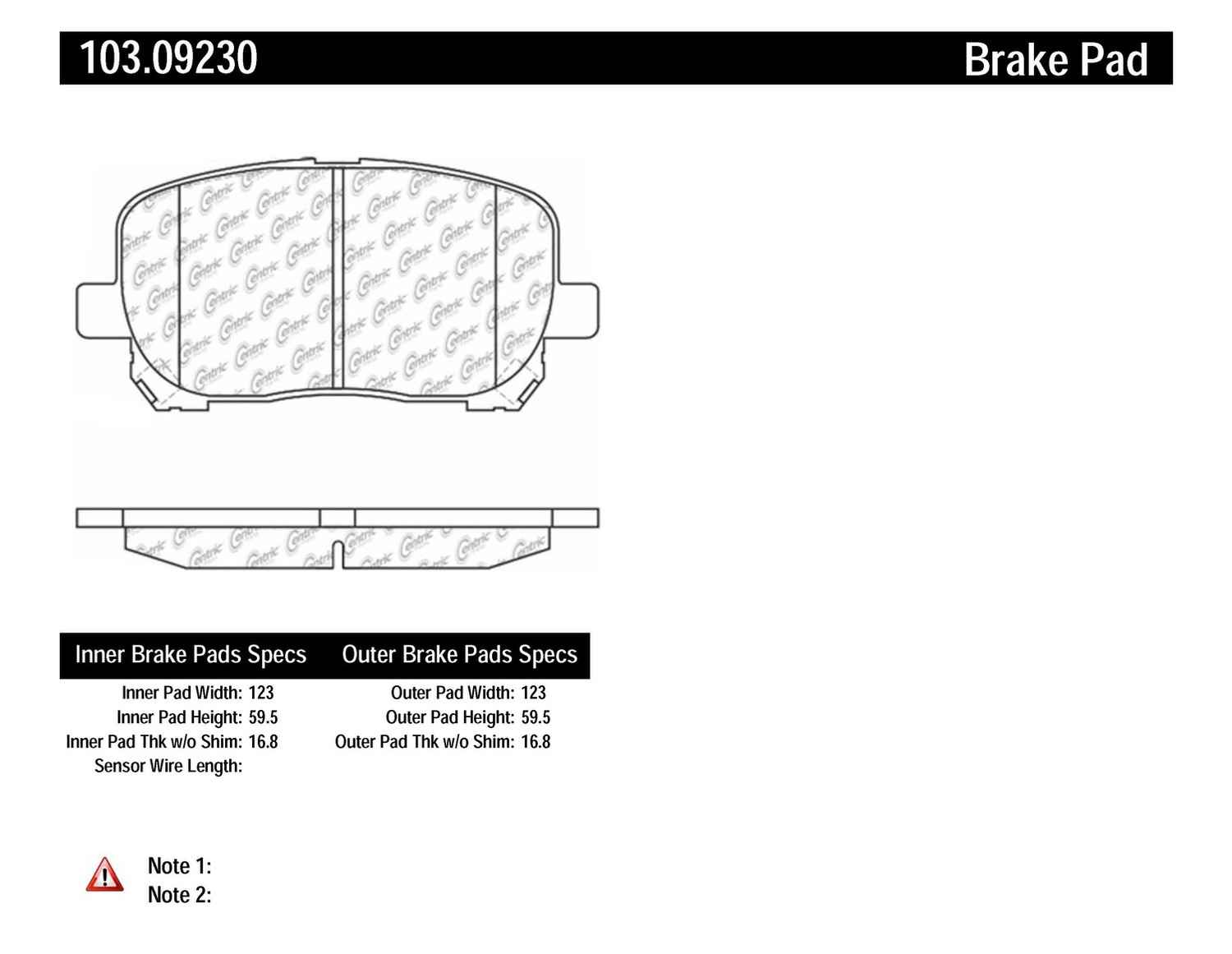 10 Discount Free Shipping Workhorse Parking Light Wire Diagrams C Tek By Centric Ceramic Brake Pads Front