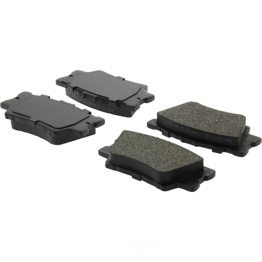 C-TEK BY CENTRIC - C-TEK Ceramic Brake Pads (Rear) - CTK 103.12120