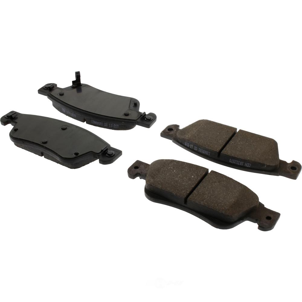 C-TEK BY CENTRIC - C-TEK Ceramic Disc Brake Pad Sets (Front) - CTK 103.12870
