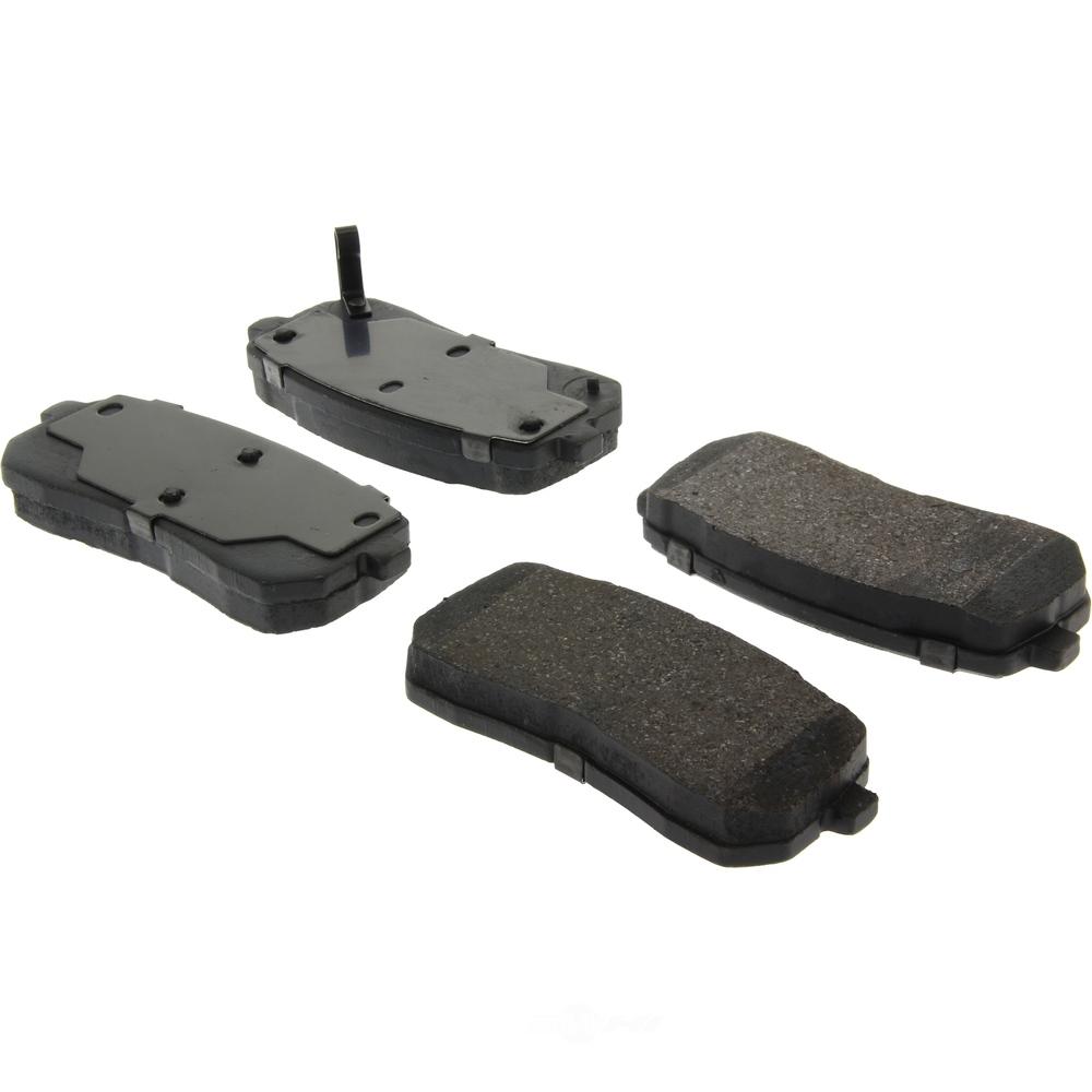 C-TEK BY CENTRIC - C-TEK Ceramic Disc Brake Pad Sets (Rear) - CTK 103.13020