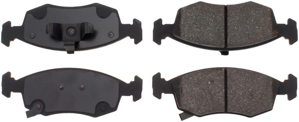 C-TEK BY CENTRIC - C-TEK Ceramic Brake Pads (Front) - CTK 103.15680