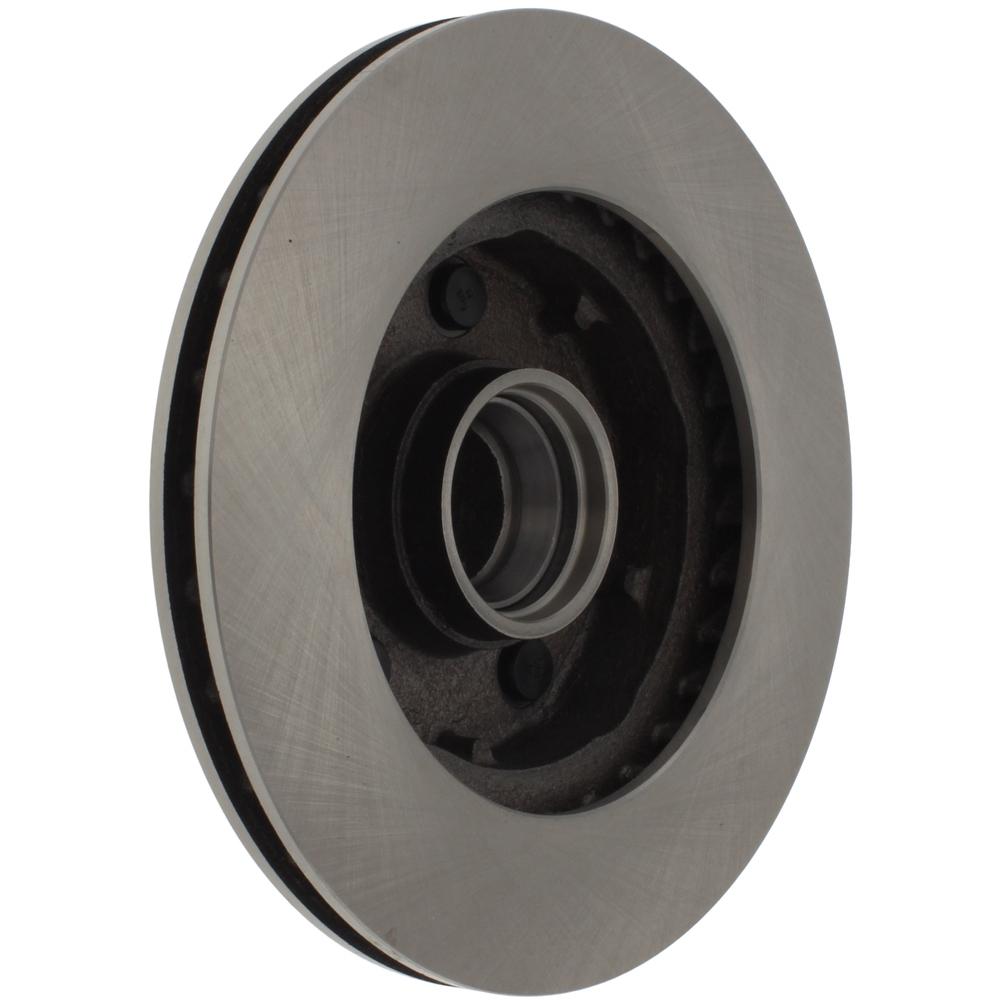 C-TEK BY CENTRIC - C-TEK Standard Disc Brake Rotor-Preferred (Front Left) - CTK 121.65034