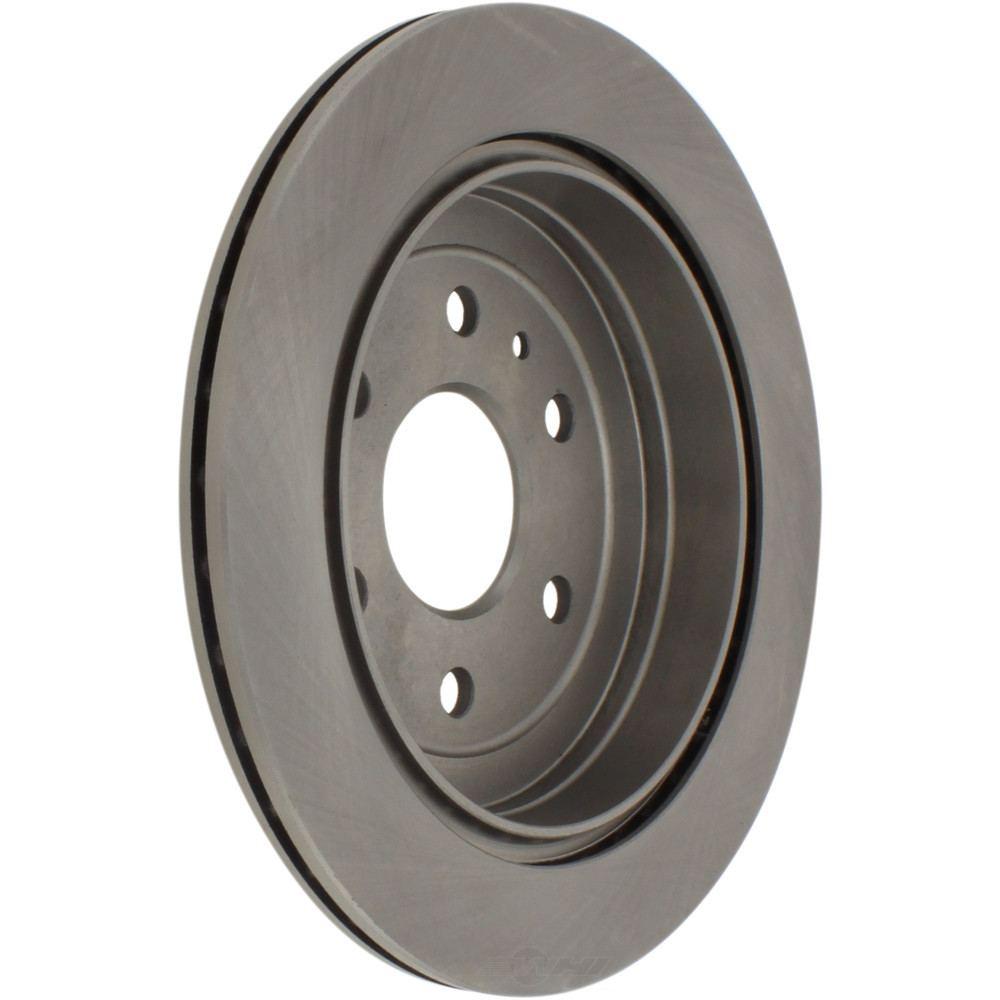 C-TEK BY CENTRIC - C-TEK Standard Disc Brake Rotors (Rear) - CTK 121.66070