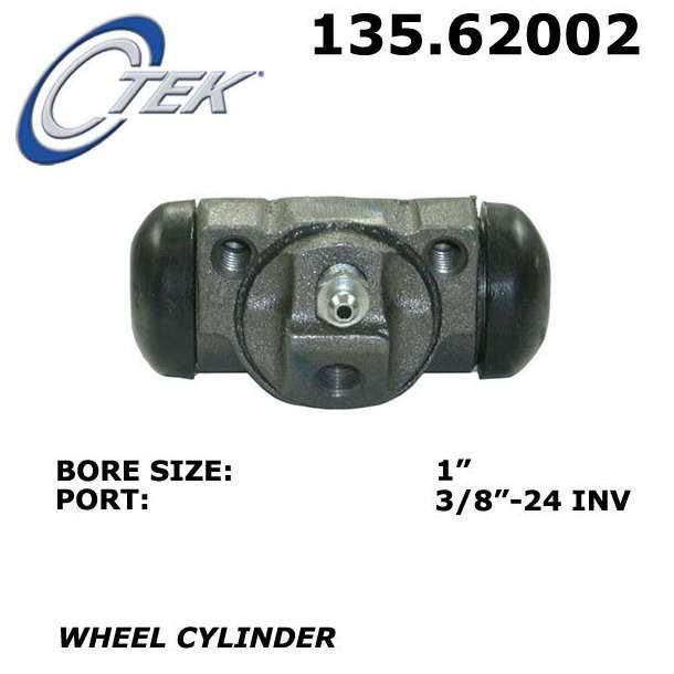 C-TEK BY CENTRIC - C-TEK Standard Wheel Cylinder - CTK 135.62002