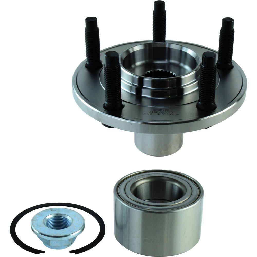C-TEK BY CENTRIC - C-TEK Standard Wheel Bearing Hub Repair Kits & Hub Assemblies - CTK 403.65000E
