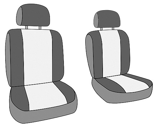 CALTREND CUSTOM TAILORED SEAT COVERS - Seat Cover - CTS TY351-03SS