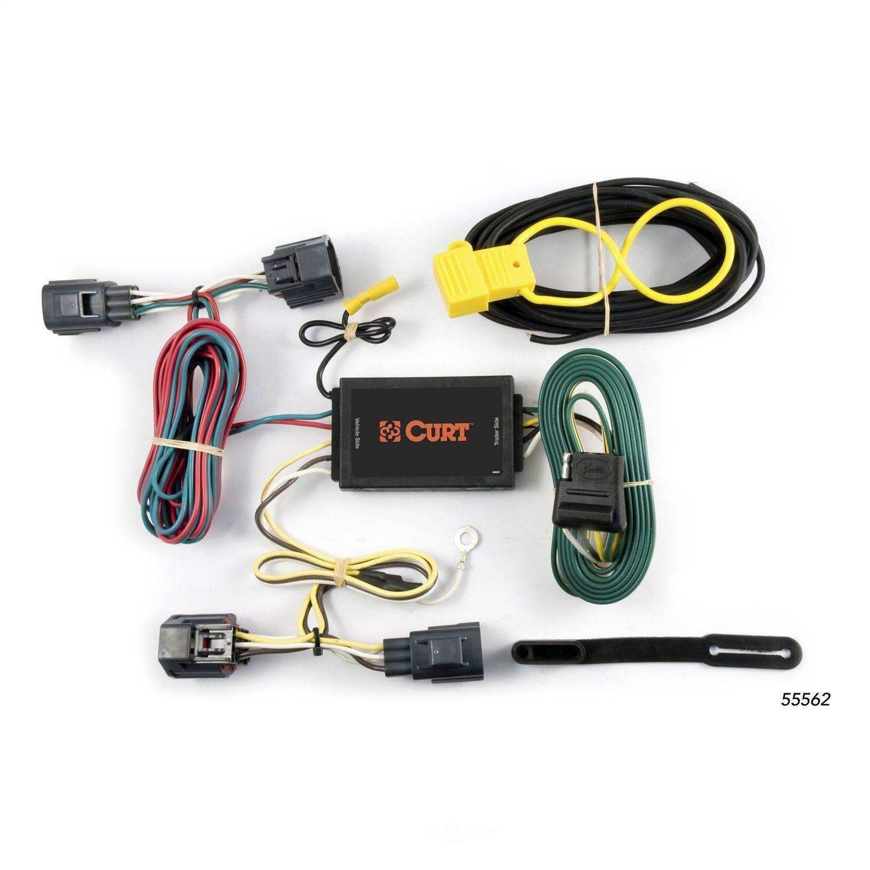 CURT MFG INC. - Custom Wiring Harness - CUR 55562