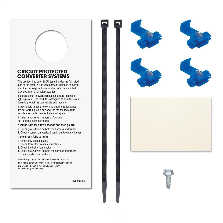 Curt Mfg Inc Trailer Wire Converter Part Number 56146 Wiring Smt Cur