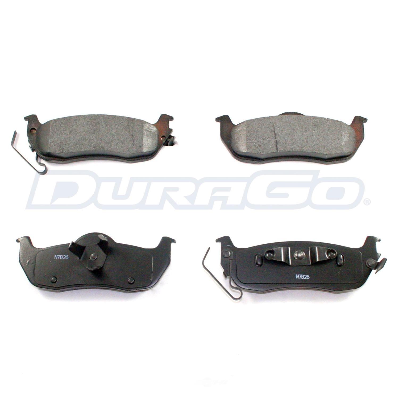 DURAGO - Disc Brake Pad - D48 BP1041MS