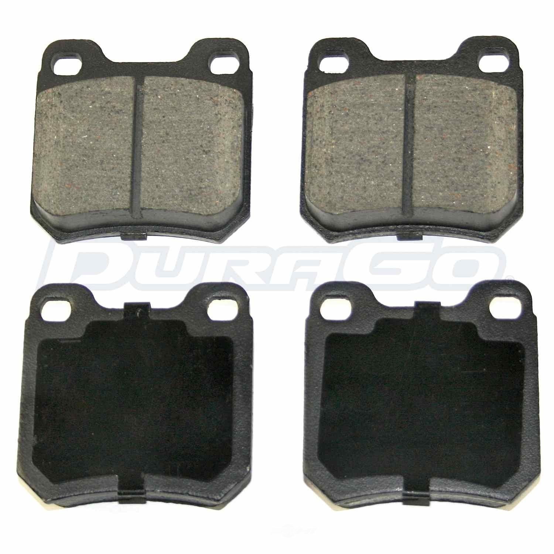 DURAGO - Disc Brake Pad (Rear) - D48 BP709MS