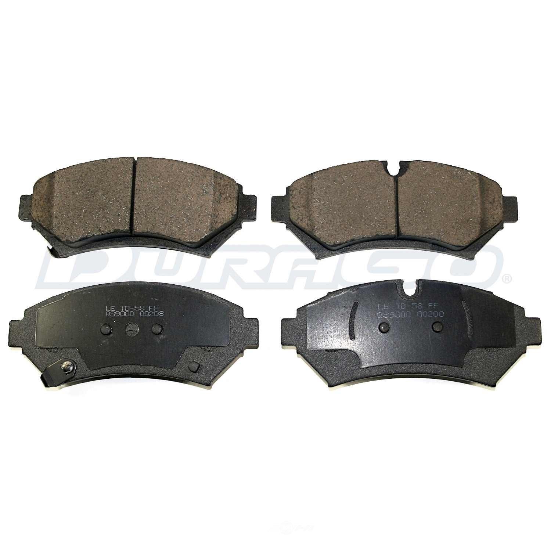 DURAGO - Disc Brake Pad - D48 BP850AMS