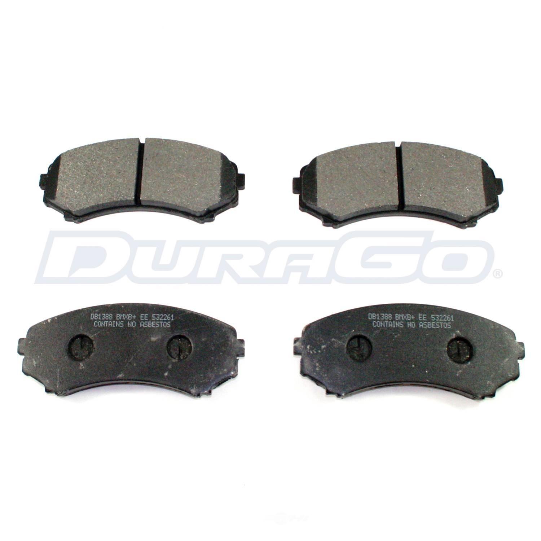 DURAGO - Disc Brake Pad (Front) - D48 BP867MS